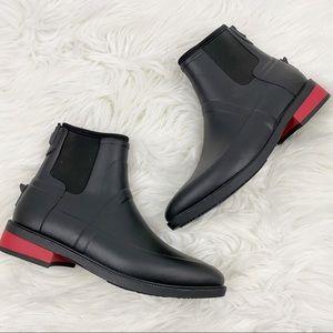 Hunter • Black Ankle Boots